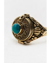 Urban Outfitters | Metallic Poison Ring in Gold | Lyst