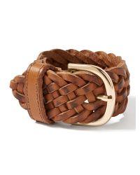 Banana Republic | Natural Leather Wrap Bracelet | Lyst