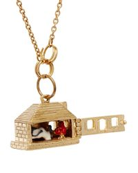 N2 - Metallic Fantasie Little Red Riding Hood Necklace - Lyst