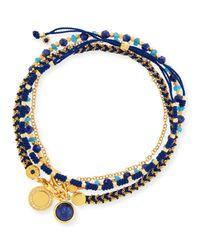 Astley Clarke | Blue Intrepid Spirit Charm Bracelets | Lyst