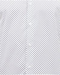 Zara | White Polka Dot Shirt for Men | Lyst