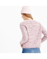 J.Crew - Multicolor Collection Textured Crewneck Sweater - Lyst