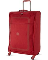 Delsey | Red Dauphine Four-wheeled Suitcase 77cm | Lyst