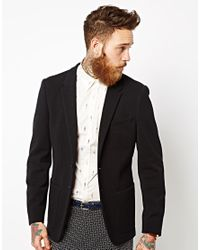 PS by Paul Smith | Black Ps Paul Smith Blazer with Patch Pockets for Men | Lyst