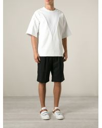 Juun.J - White Oversize T-Shirt for Men - Lyst