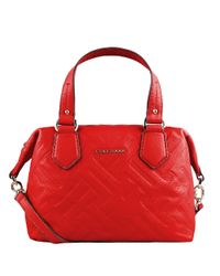 Cole Haan | Red Hollis Leather Satchel Bag | Lyst