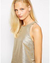 Vanessa Mooney | Metallic Stardust Chain Earrings | Lyst