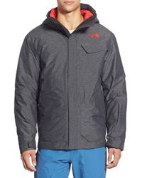 The North Face - Black 'marsellus' Triclimate Waterproof 3-in-1 Jacket for Men - Lyst