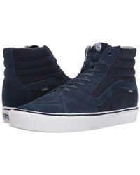 Vans - Blue Sk8-hi Lite for Men - Lyst