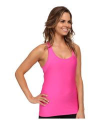 Under Armour | Pink Heatgear® Alpha Tank | Lyst