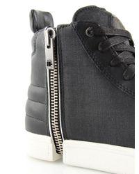 DIESEL | Black Zip-round S-nentish for Men | Lyst