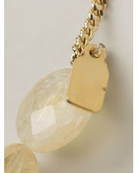 Citrine by the Stones - Metallic Stones Necklace - Lyst