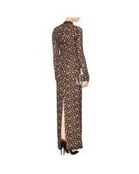 Stella McCartney - Black Silk Lace Gown - Lyst