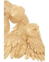 Valentino Metallic Owl Goldplated Cuff
