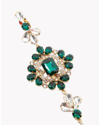 DSquared² | Green Queen Elizabeth Earrings | Lyst