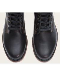 Frye | Black Arkansas Mid Leather | Lyst