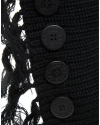 UGG - Black Fringe Cardy Knitted Boots - Lyst