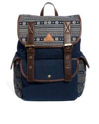 Rock Revival | Blue Aztec Backpack for Men | Lyst