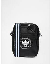 e007c1675afc Lyst - adidas Originals Perforated Flight Bag in Black for Men