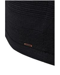 BOSS Orange - Black Fashion Fit Long-sleeved Shirt 'tompkins' In Cotton Blend for Men - Lyst
