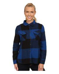 Woolrich | Blue Oxbow Bend Shirt Jac | Lyst