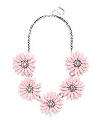 BaubleBar | Pink Poppy Collar | Lyst