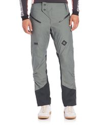 Helly Hansen | Gray Cross Pants for Men | Lyst