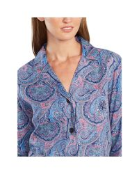 Pink Pony | Blue Drawstring Pajama Pant | Lyst