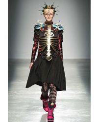 Manish Arora - Metallic Anatomic Faux Leather Harness - Lyst
