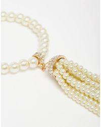 ALDO - Natural Mantigno Tassel Bracelet - Lyst