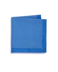 Saks Fifth Avenue | Blue Dot Print Pocket Square for Men | Lyst
