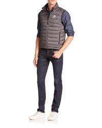 Polo Ralph Lauren | Gray Rlx Global Explorer Down Vest for Men | Lyst
