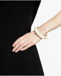 Parts Of 4 - White Bone Spike Bracelet for Men - Lyst