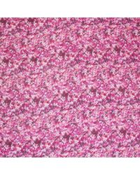 Jigsaw | Pink Printed Pom Pom Scarf | Lyst
