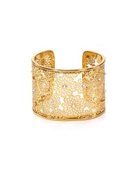 kate spade new york | Metallic Strike Statement Cuff | Lyst