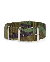 Smart Turnout - Multicolor 20mm Camouflage Grosgrain Watch Strap for Men - Lyst