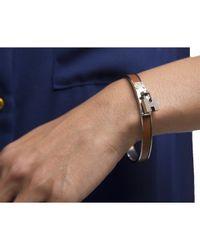 Hermès | Pre-owned Brown Kelly Cadena Gm Bracelet | Lyst