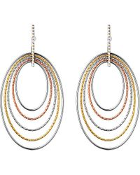 Links of London | Gray Aurora Loop Chandelier Earrings - For Women | Lyst