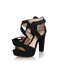 Vince Camuto | Black Shayla High Heel Sandals | Lyst
