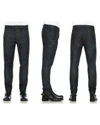 Joe's Jeans | Black Inline Zip Skinny | Lyst