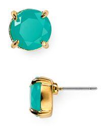 Carolee - Blue Small Stud Earrings - Lyst