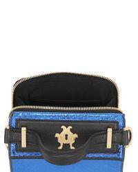 Giancarlo Petriglia | Black Mini Clary Metallic Elaphe Shoulder Bag | Lyst