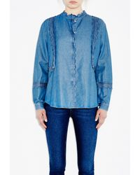 M.i.h Jeans | Blue Ile Shirt | Lyst