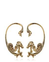 Roberto Cavalli | Metallic Arion Gold Plated Mono Ear Cuff | Lyst