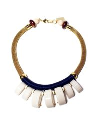 Lizzie Fortunato | Natural Casa Azul Graphic Necklace | Lyst