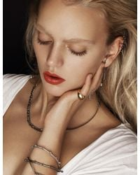 Pixie Market | Metallic The Diamond Ring | Lyst