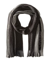Calvin Klein | Black Pin Stripe Raschel for Men | Lyst