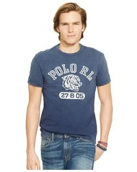 Polo Ralph Lauren | Blue Tiger Graphic T-shirt for Men | Lyst