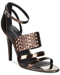 Calvin Klein | Brown Women's Mayra Dress Sandals | Lyst