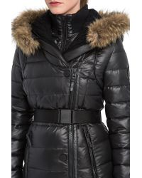 Rud By Rudsak | Black Roseann Quilted Down Coat | Lyst